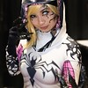 Gwenom at Silicon Valley Comic-Con on Saturday. More pics from SVCC at flic.kr/s/aHsmGiBKAX #svcc #svcc2019 #cosplay #marvel #marvelcomics #spidergwen #spidergwencosplay #gwenom #venom #spiderman