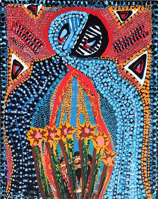 Arte abstracto pintora latino judia Mirit Ben-Nun