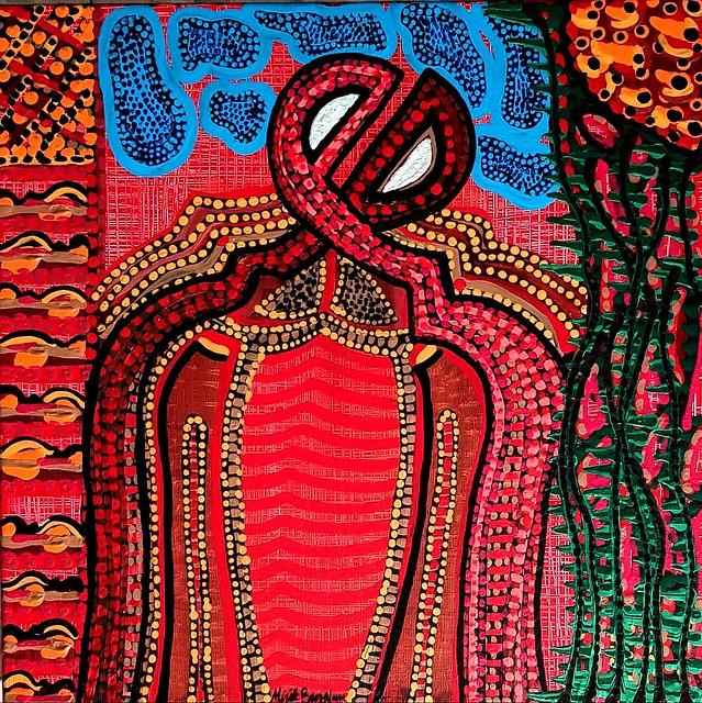 La mujer en la pintura arte abstracto pintora latino judia Mirit Ben-Nun