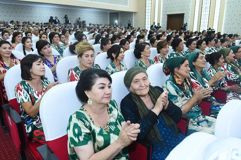 Ифтитоҳи бинои Қасри фарҳанги ноҳияи Зафаробод  22.08.2019