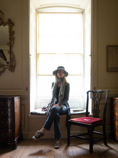 Mariëlle, Cambridgeshire 2019: Backlit elegance