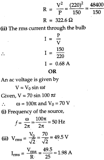 CBSE Previous Year Question Papers Class 12 Physics 2012 Outside Delhi 61