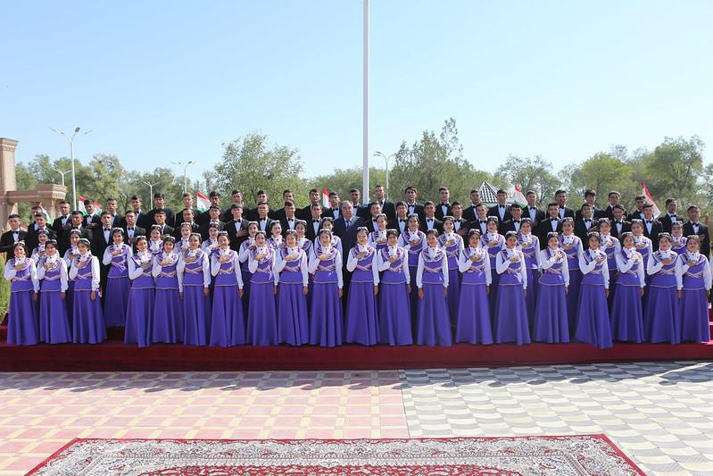 Ифтитоҳи Нишони давлатӣ дар ноҳияи Зафаробод  22.08.2019