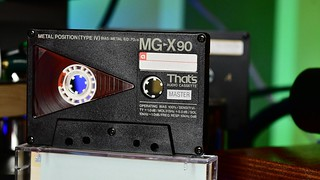That's MG-X cassette, type IV tape