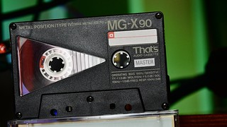 THAT'S MG-X cassette type IV tape