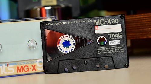 THAT'S MG-X cassette type IV Metal tape