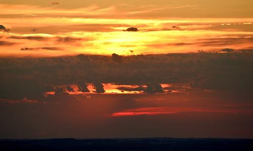 germany munich deutschland münchen bayern bavaria olympiapark sunset clouds horizon sonnenuntergang wolken horizont olympiaturm tv tower fernsehturm ©allrightsreserved
