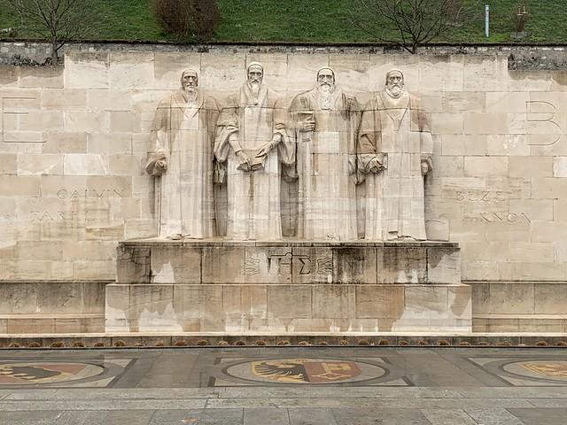 Mur des réformateurs - Genève