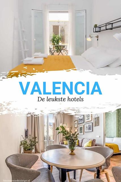 Leuke hotels Valencia, bekijk de mooiste boutique hotels Valencia | Mooistestedentrips.nl