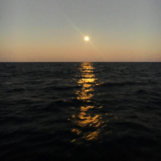 Moon rise.