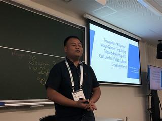 "Christoffer Mitch Cerda. Defining ""Filipino"" Video Games: Teaching Filipino Identity and Culture for Video Game Development"