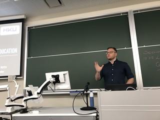 Christian Roth presenting Ludonarrative in Game Design Education – Cornerstones of a Program