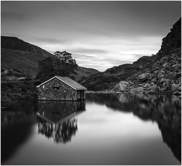 Boathouse at Llyn Ogwen