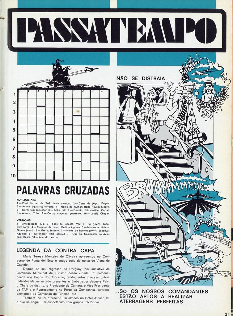 Passatempo, Inter TAP, 32, 1.º Trim. 1971