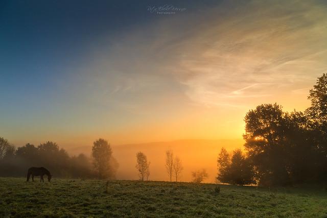 The magic of the sunrise