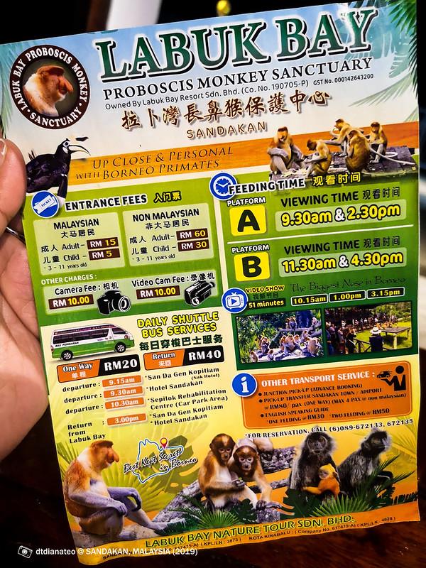 2019 Sandakan Labuk Bay Proboscis Monkey Sanctuary