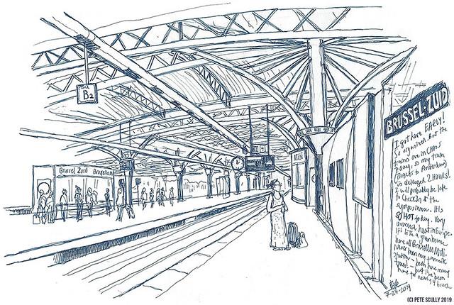 Brussels Midi Platform sm