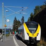 Endstation der Höllentalbahn in Seebrugg am Schluchsee.