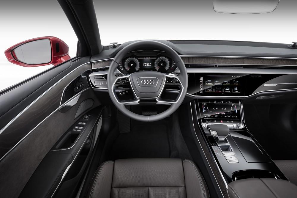 Audi A8_ 10. The new Audi A8採用新世代「MMI touch response 觸控回饋操作介面」,打造數位化人性座艙