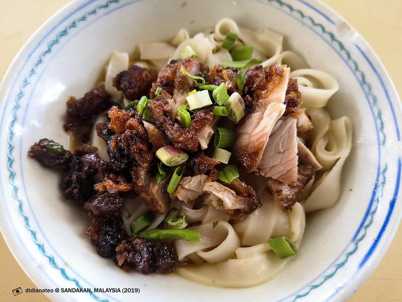 2019 Sandakan Food The Original Homemade Kueh Teow with Deep-Fried Pork