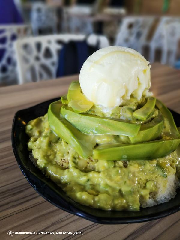 2019 Sandakan Food Avocado Shaved Ice Crown 99