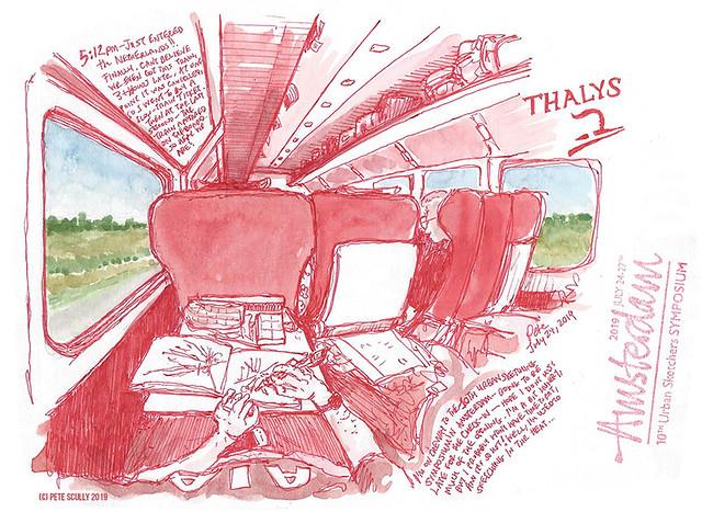 Thalys to Amsterdam sm