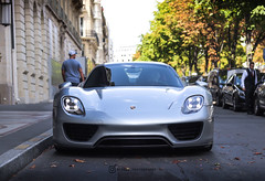 Porsche 918 Spyder - Paris the 10th of August, 2019