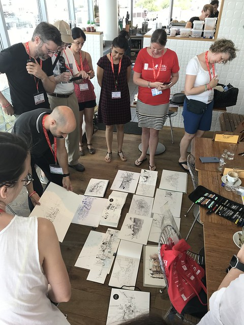 Hugo Costa's workshop at USk Amsterdam 2019