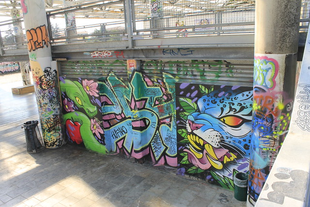Snake & Tiger Mural