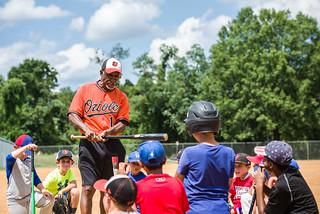 Al Bumbry Baseball Camp