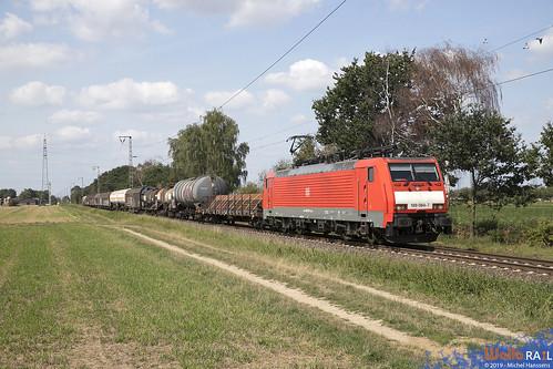 189 084 . DB Cargo . 45745 . Dülken . 21.08.19.