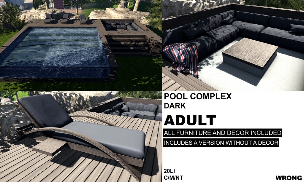 WRONG - POOL COMPLEX DARK ADULT - TeleportHub.com Live!