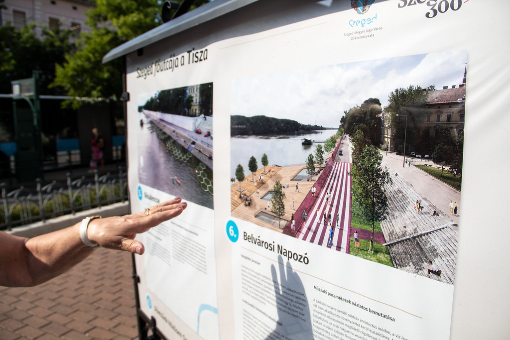 Másfél milliárdból újítaná fel a rakpartot a város