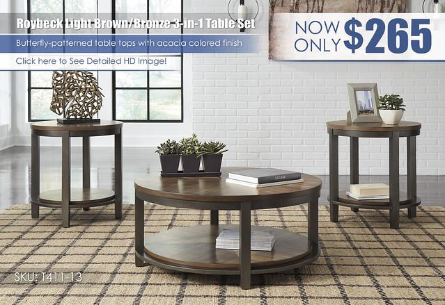 Roybeck Table Set_T411-13