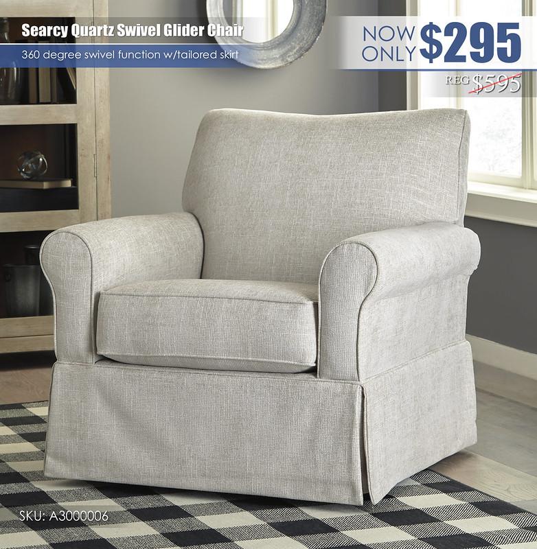 Searcy Quartz Glider Accent Chair_A3000006