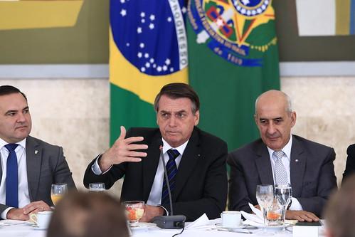 Café com o presidente Bolsonaro