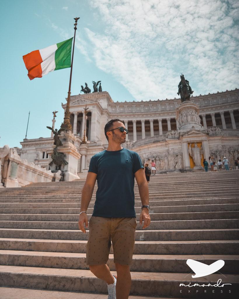 Itinerario por el centro de roma
