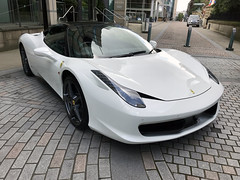 Ferrari 458 Italia, Sheffield 2019