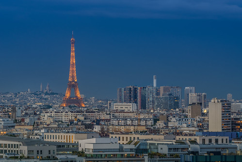 Skyline Parisienne