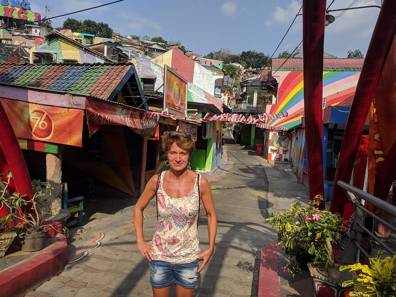 Kampung Pelangi: pueblo arcoiris de turismo en Semarang