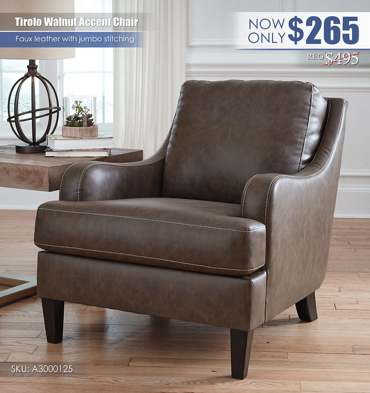 Tirolo Walnut Accent Chair_A3000125