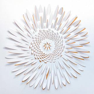 Papercut Sunflower
