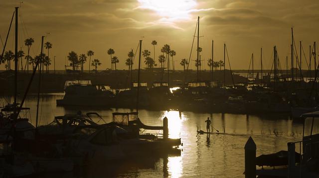 Golden Hour in Oceanside California
