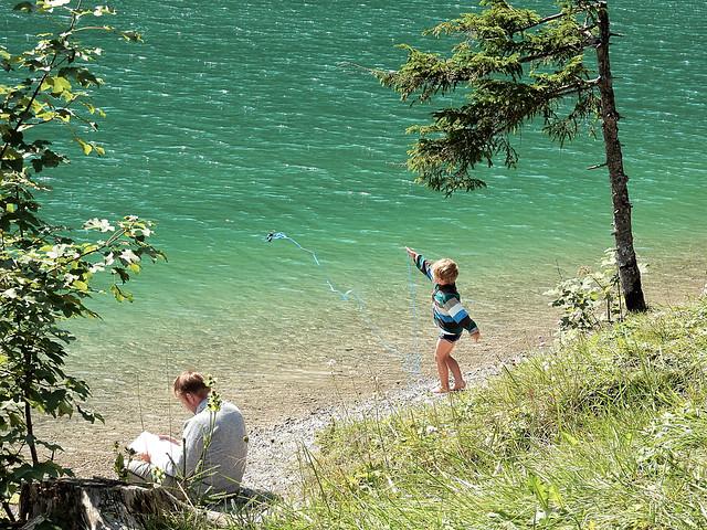 Little boy magnet fishing ... ☺☺! (N4212 )