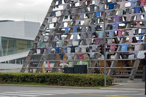 """""""We are still the same"""", art installation by Kaarina Kaikkonen, Oslo, Norway"""