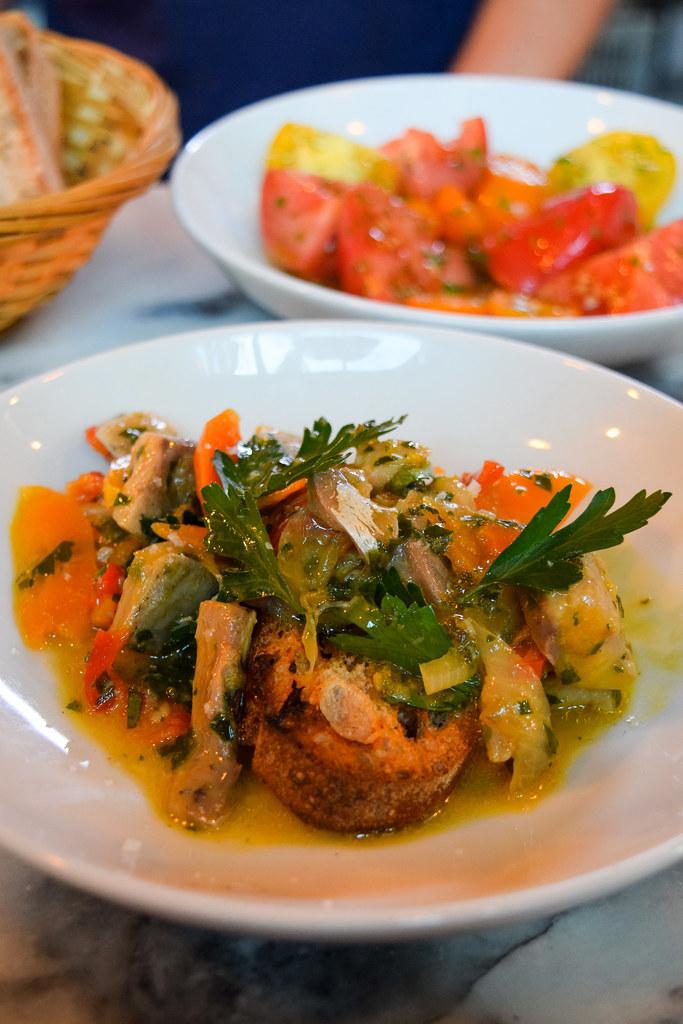 Smoked mackerel escabeche at Bar Douro, London Bridge