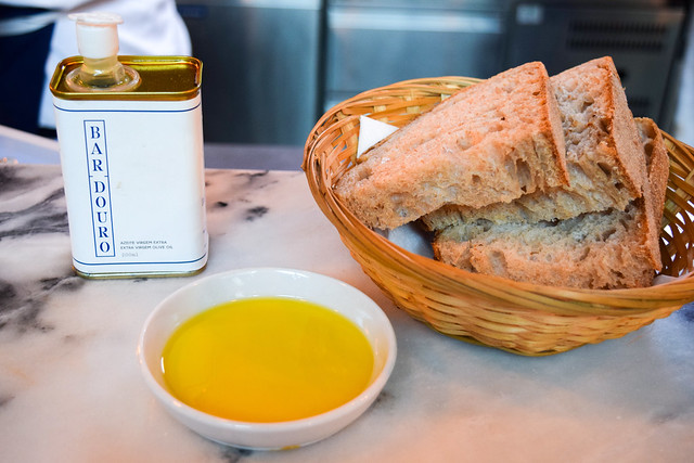 Bread and House Olive Oil at Bar Douro, London Bridge