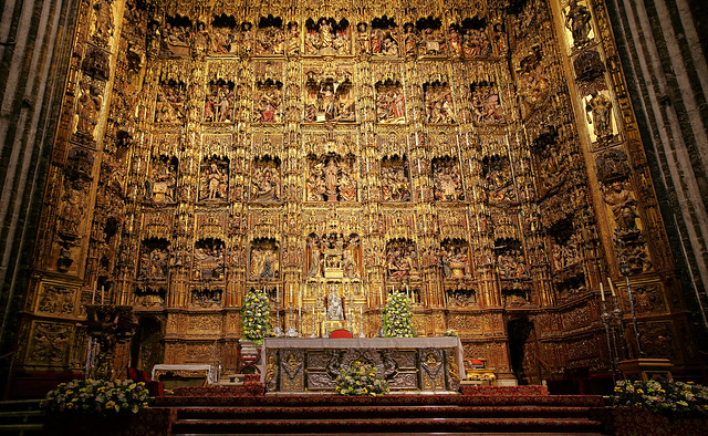 Pierre Dancart's masterpiece in the Cathedral of Seville