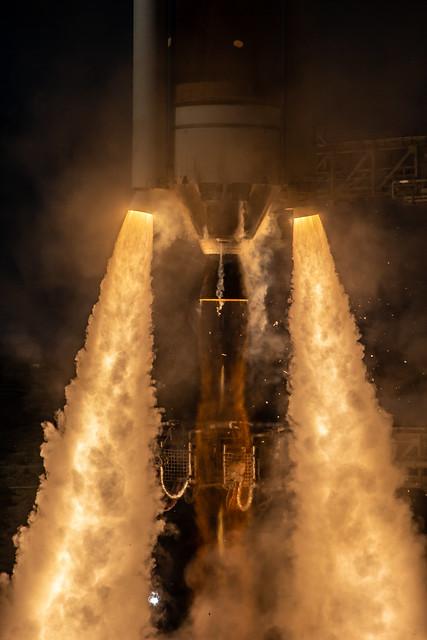 Liftoff! Delta IV GPS III SV-2