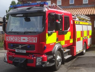 North Yorkshire Fire & Rescue Service (YK12 GTY)